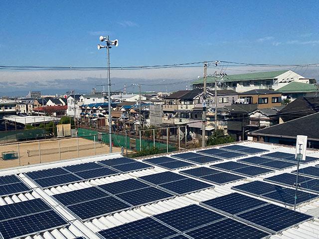 太陽光設置・ペーパーレス ECO事業