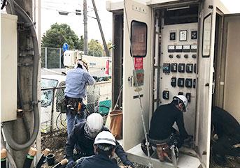 受変電設備リニューアルの取り組み